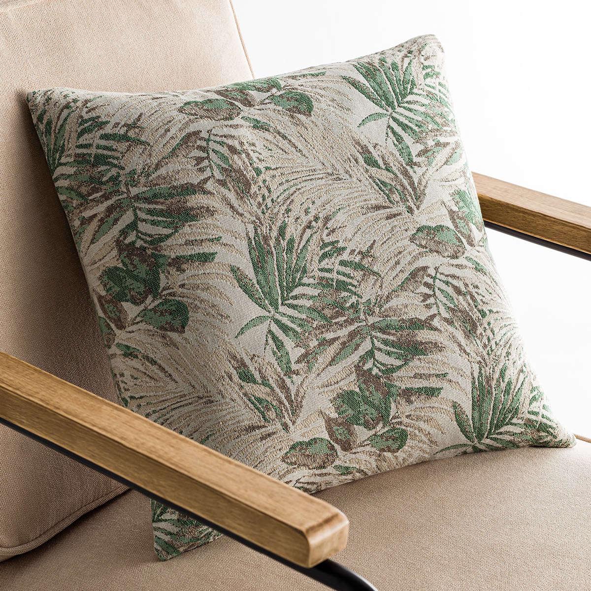 Μαξιλαροθήκη Διακοσμητική Paloma Green 696/18 Gofis Home 50X50 Βαμβάκι-Polyester