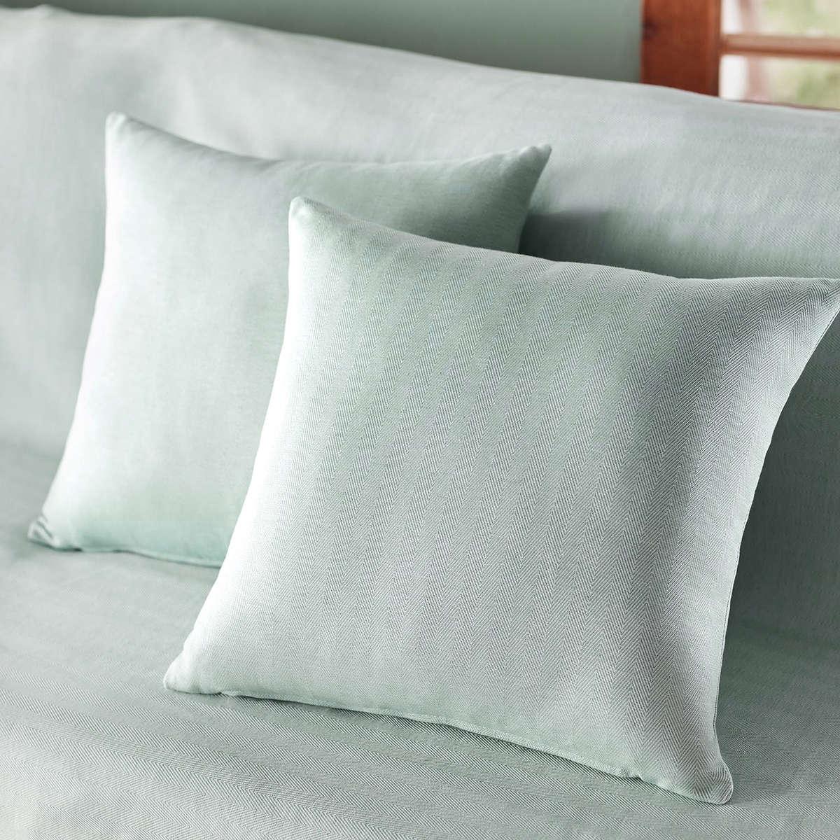 Μαξιλαροθήκη Διακοσμητική Rene Aqua 732/11 Gofis Home 50X50 Βαμβάκι-Polyester