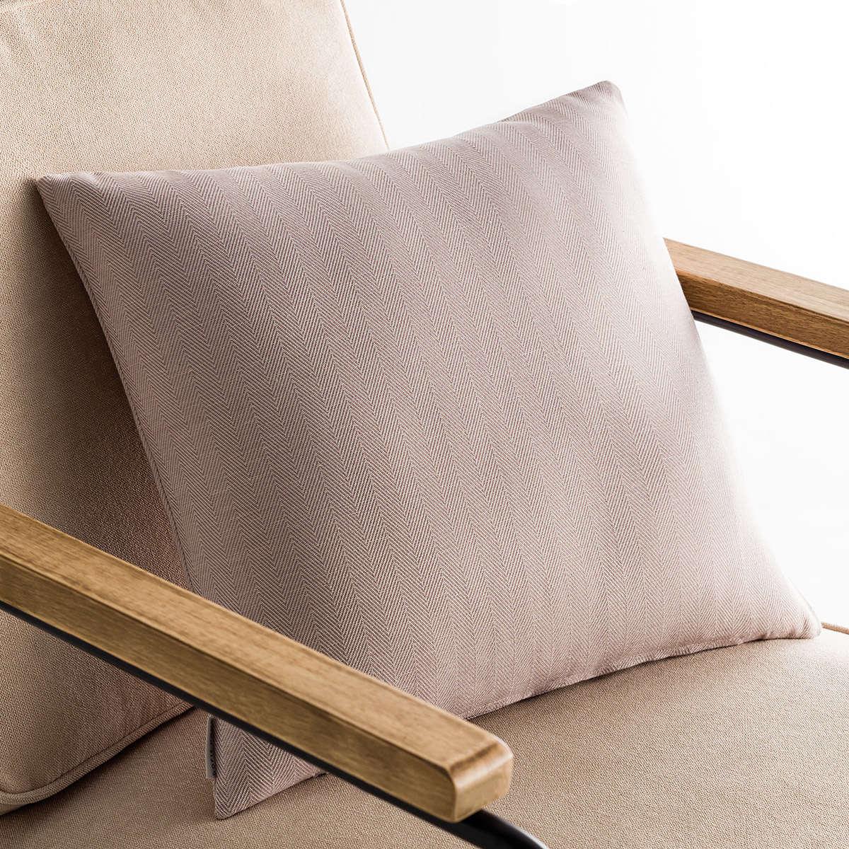 Μαξιλαροθήκη Διακοσμητική Rene Mauve Pale 732/08 Gofis Home 50X50 Βαμβάκι-Polyester