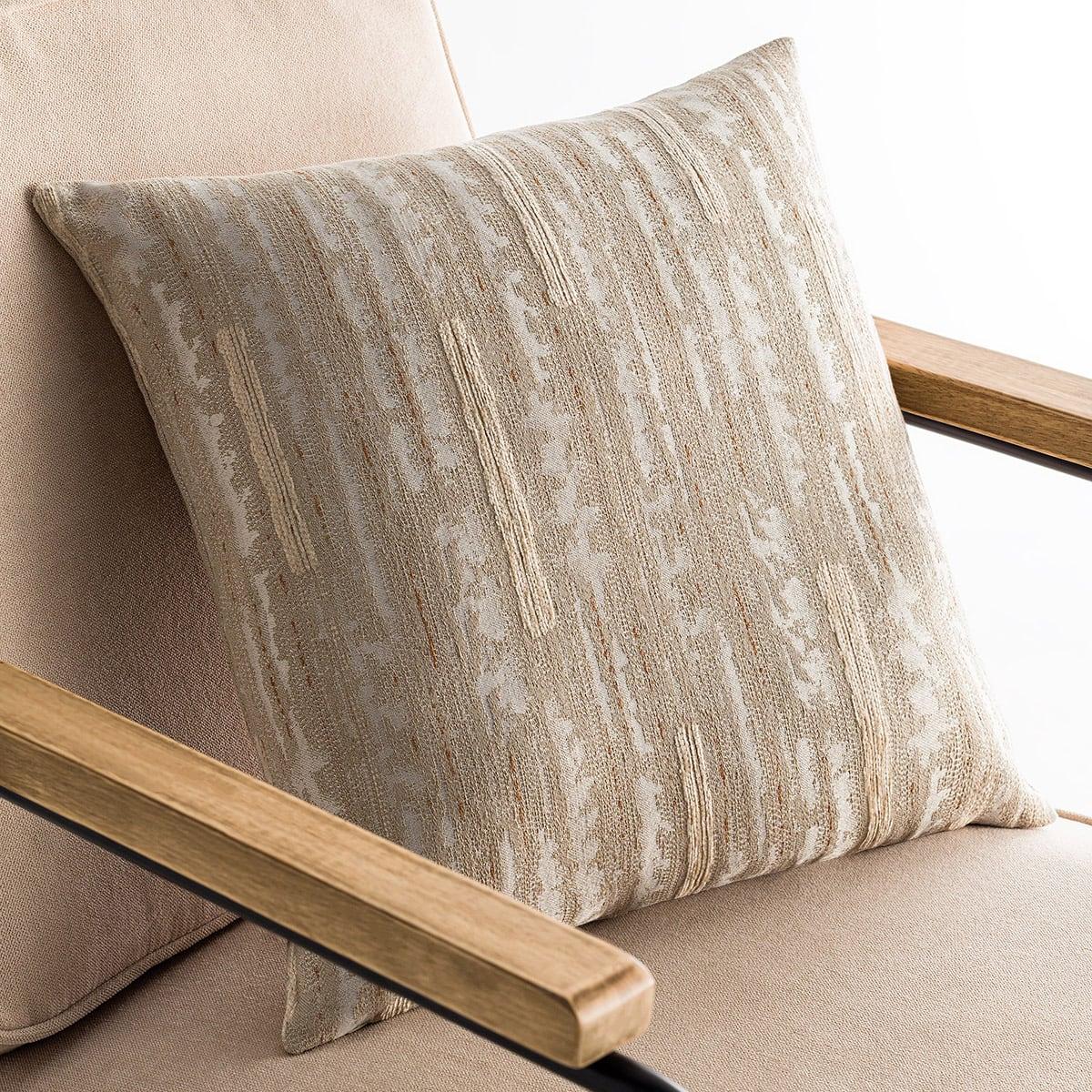 Μαξιλαροθήκη Διακοσμητική Tunizia Beige 289/06 Gofis Home 50X50 Βαμβάκι-Polyester