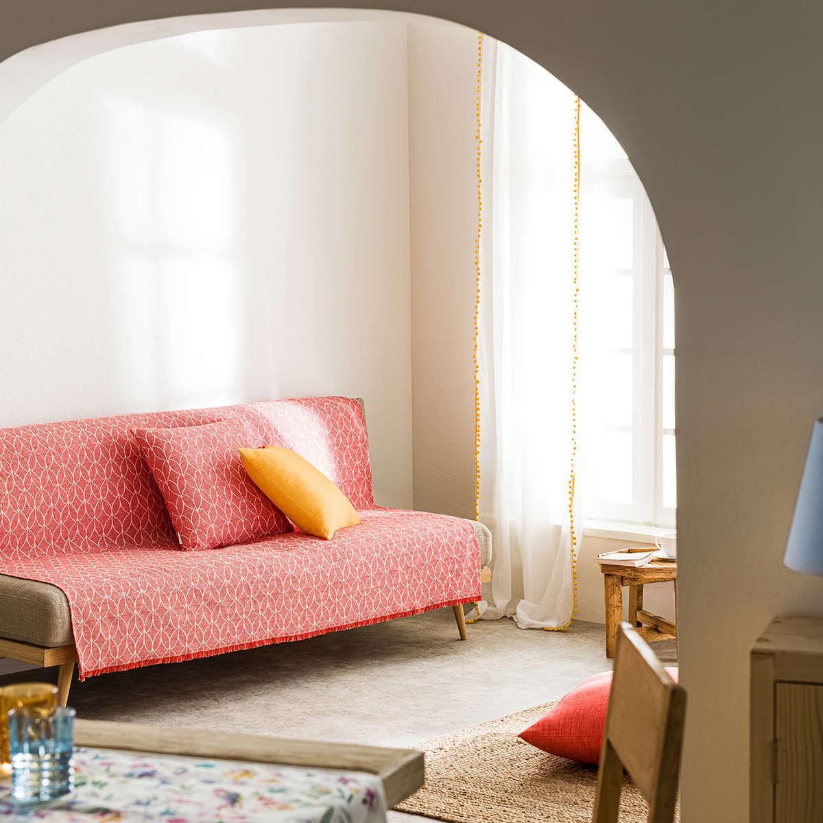 Ριχτάρι Lumien Red 517/02 Gofis Home Τετραθέσιο 180x350cm