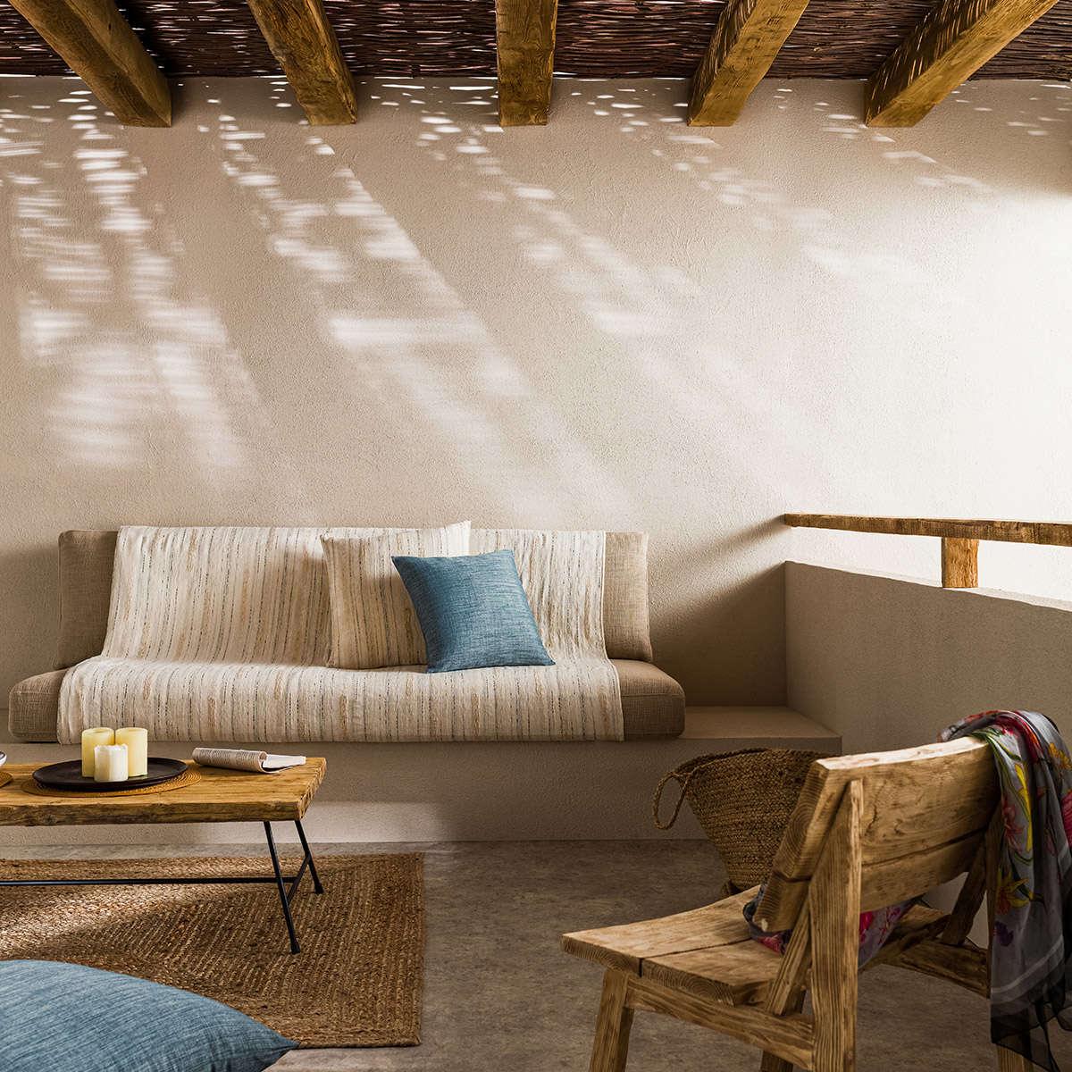 Ριχτάρι Tunizia Ecru 289/05 Gofis Home Τετραθέσιο 180x350cm
