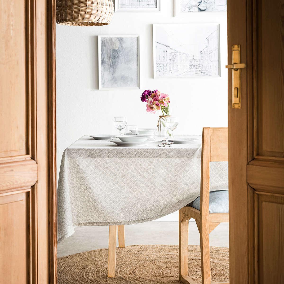 Τραπεζομάντηλο Delfina Beige 237/06 Gofis Home 150Χ300