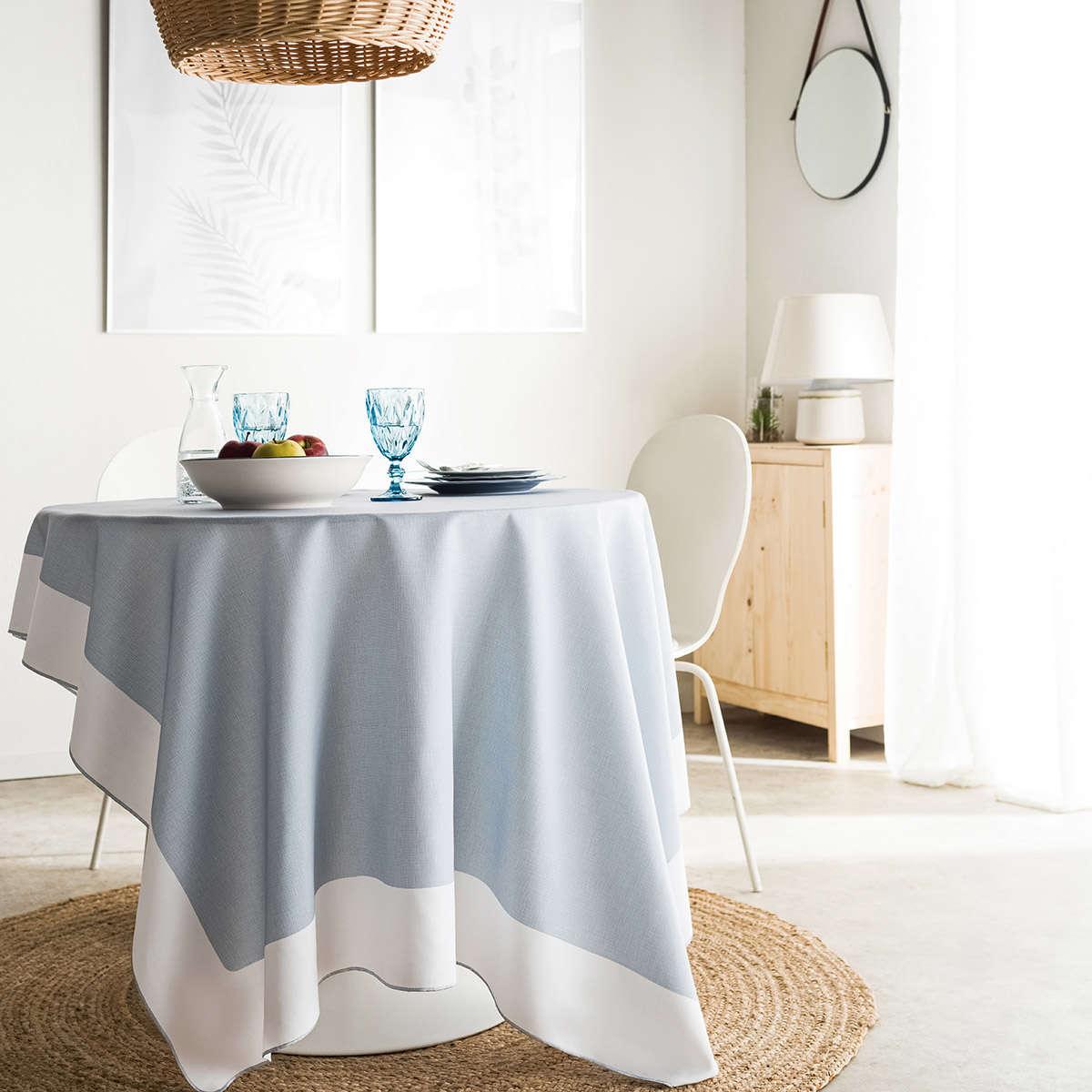 Τραπεζομάντηλο Domenica Blue 103/01 Gofis Home 150Χ300