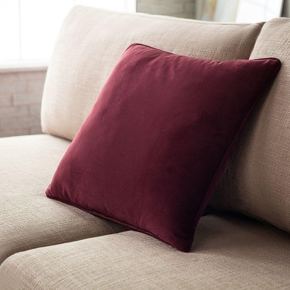 Μαξιλαροθήκη Διακοσμητική Loriane 956/19 Cherry Gofis Home 45X45 100% Polyester