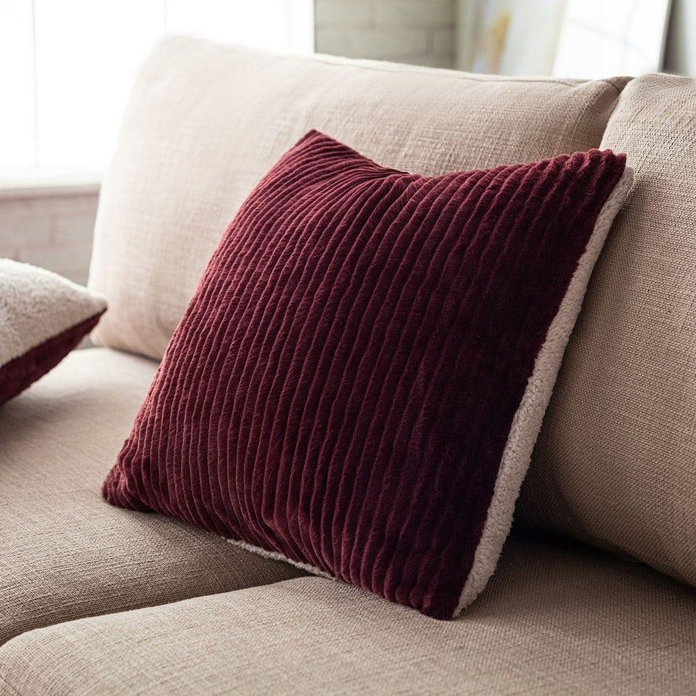 Μαξιλαροθήκη Διακοσμητική Softy 478/19 Cherry Gofis Home 45X45 100% polyester