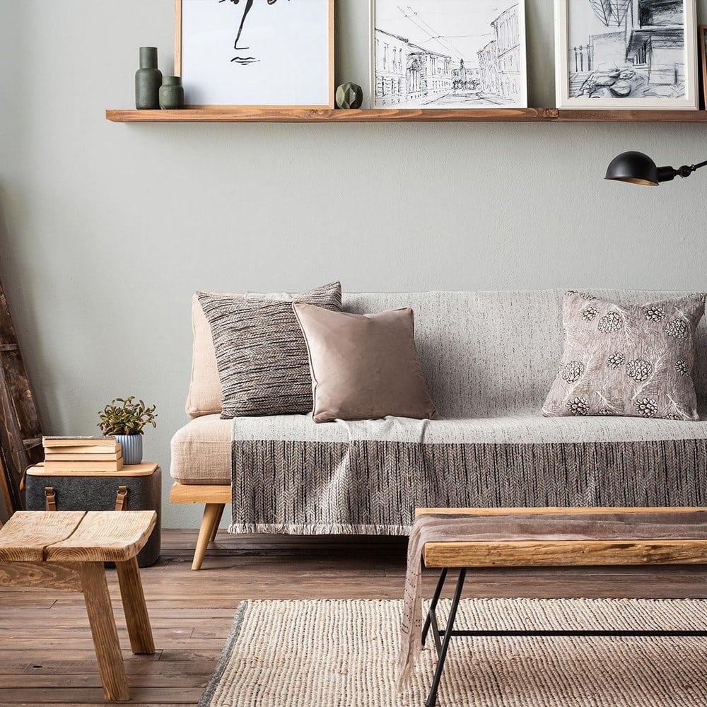 Ριχτάρι Renkly 645/15 Grey Gofis Home Πολυθρόνα 180x180cm