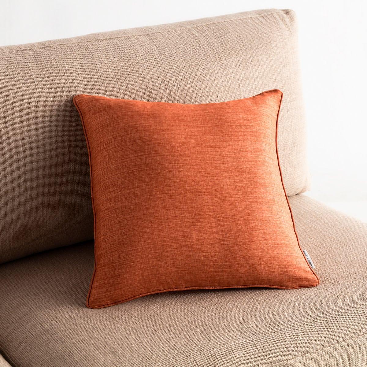 Μαξιλαροθήκη Διακοσμητική Chrome 930B/13 Tan Brown Gofis Home 45X45 100% Polyester