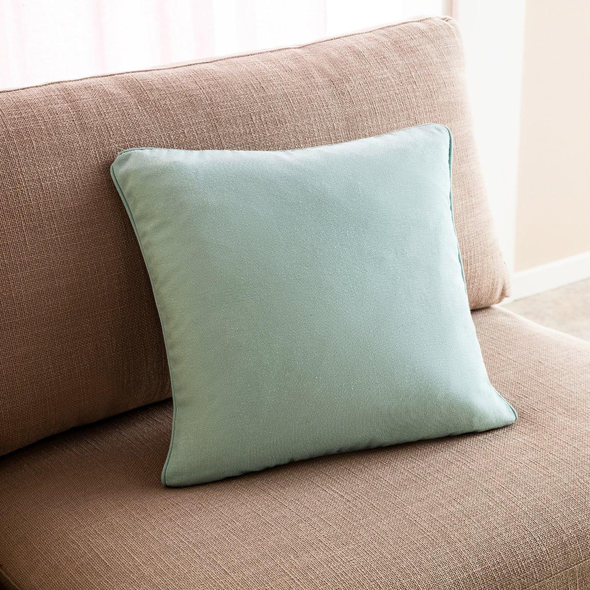Μαξιλαροθήκη Διακοσμητική Colors 911/01 Cloud blue Gofis Home 45X45 Βαμβάκι-Polyester
