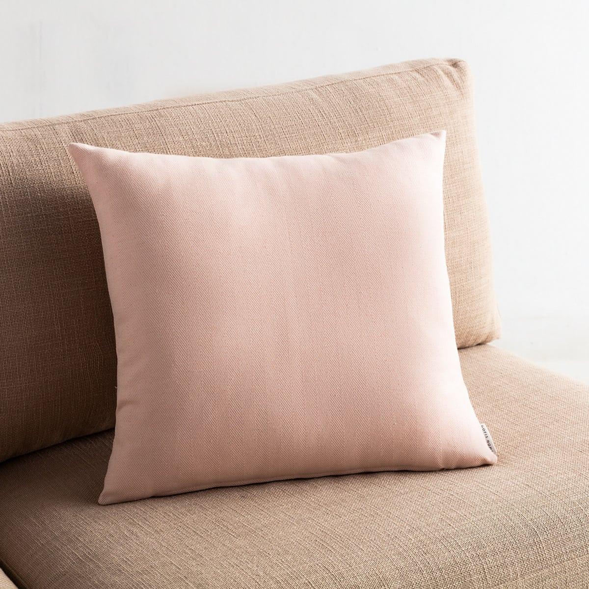 Μαξιλαροθήκη Διακοσμητική Rene 732/25 Pink Gofis Home 50X50 Βαμβάκι-Polyester