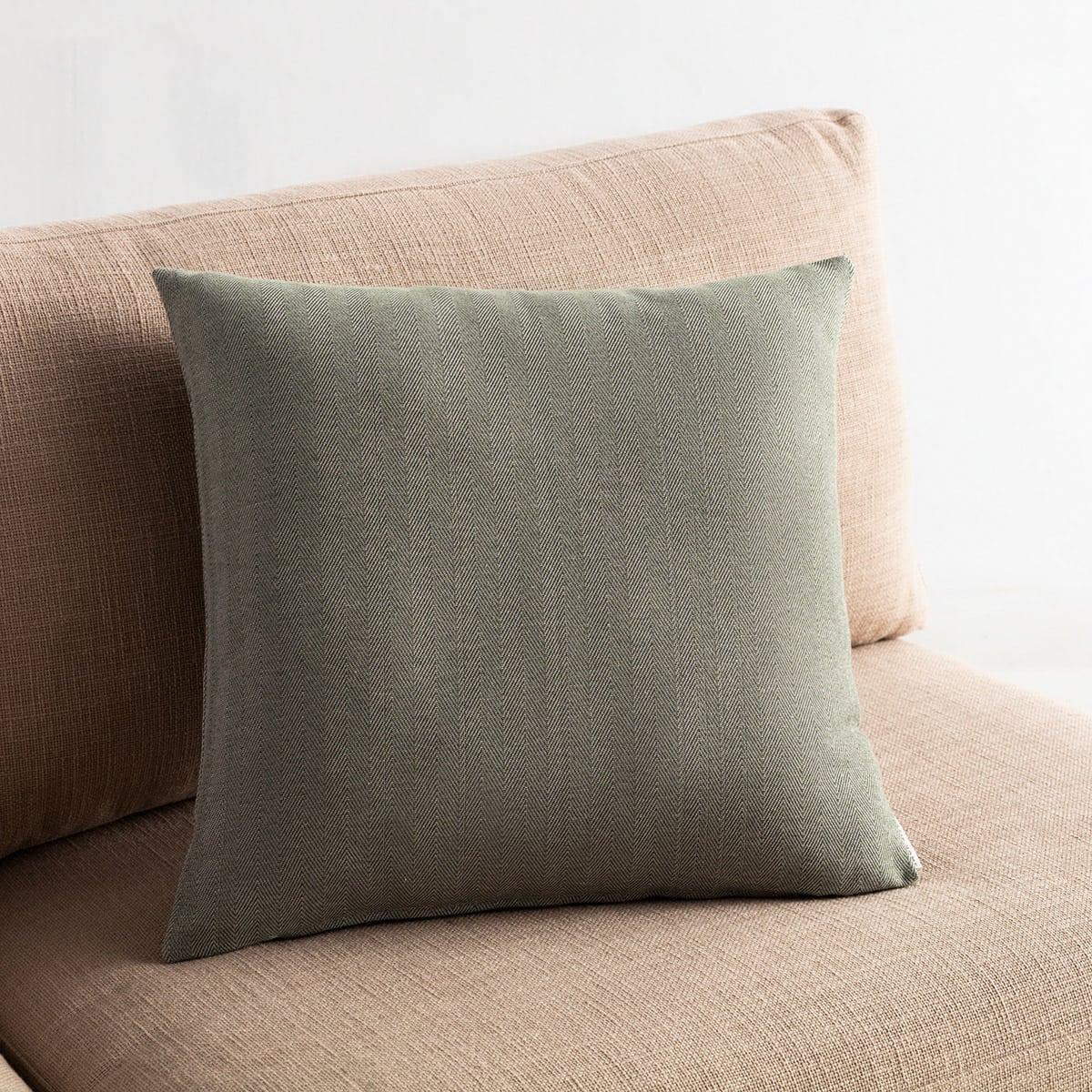 Μαξιλαροθήκη Διακοσμητική Rene 732/30 Khaki Gofis Home 50X50 Βαμβάκι-Polyester
