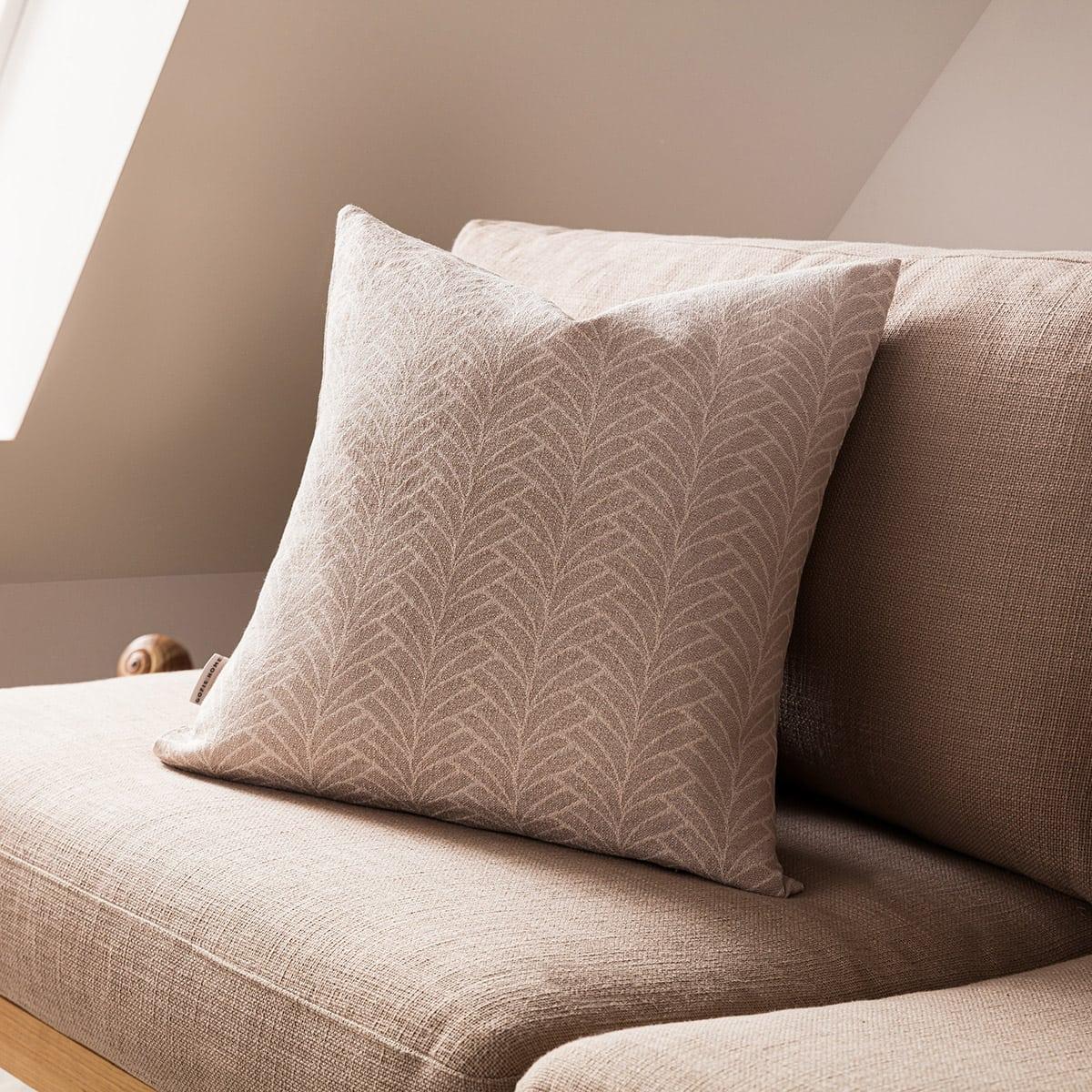 Μαξιλαροθήκη Διακοσμητική Seashell 223/06 Beige Gofis Home 50X50 Βαμβάκι-Polyester