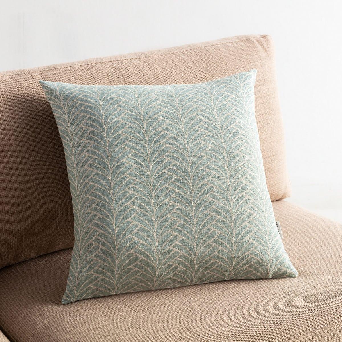Μαξιλαροθήκη Διακοσμητική Seashell 223/11 Aqua Gofis Home 50X50 Βαμβάκι-Polyester