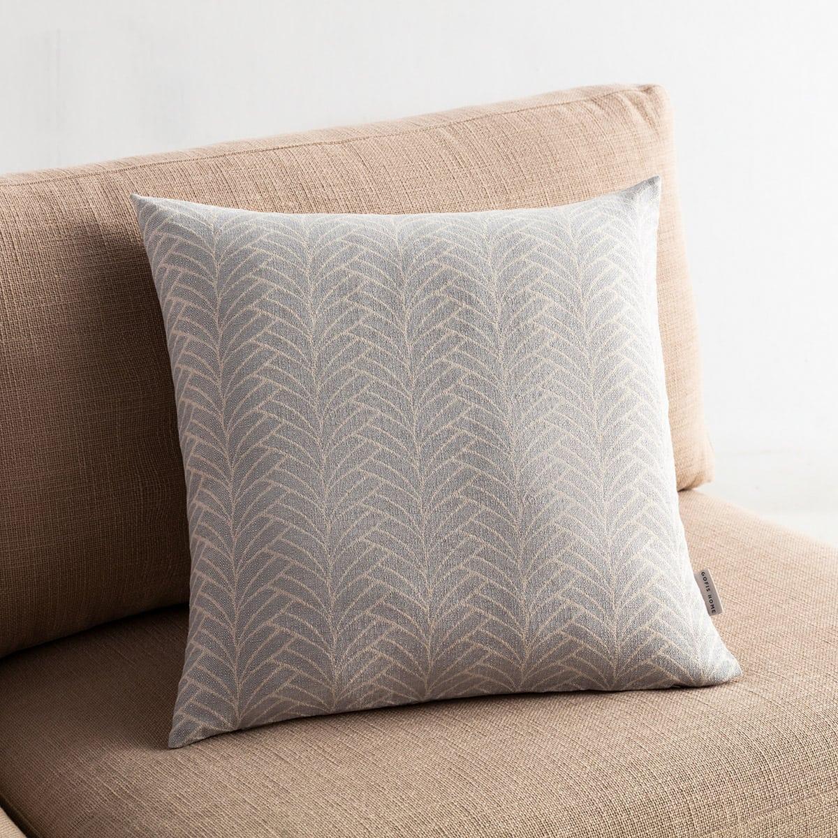 Μαξιλαροθήκη Διακοσμητική Seashell 223/15 Grey Gofis Home 50X50 Βαμβάκι-Polyester