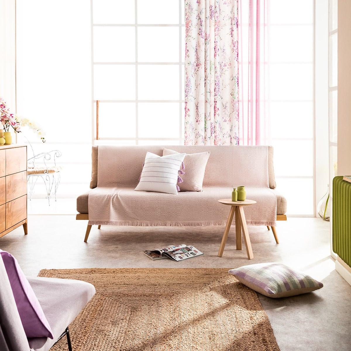 Ριχτάρι Liberta 841/20 Lila Gofis Home Πολυθρόνα 180x180cm