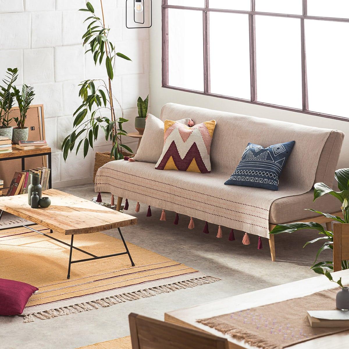 Ριχτάρι Trace 467/02 Red Leather-Somon Gofis Home Διθέσιο 180x250cm