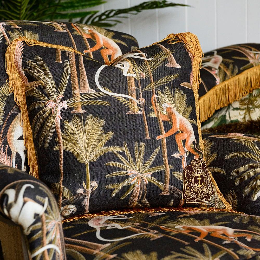 Μαξιλάρι Διακοσμητικό (Με Γέμιση) Barbados LC40068 MindTheGap 50X50 100% Λινό