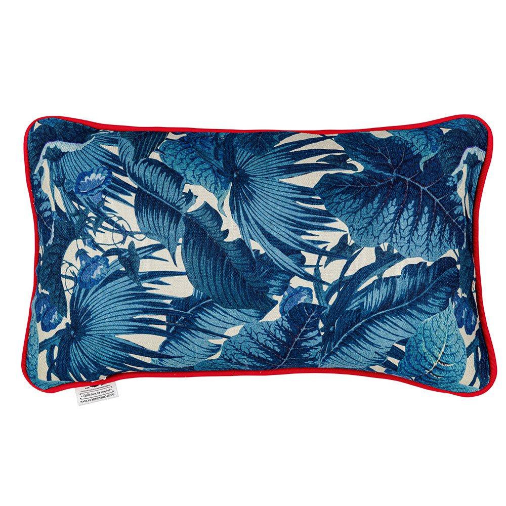 Μαξιλάρι Διακοσμητικό (Με Γέμιση) Paradeisos Lc40121 50X30Cm Blue-Red Mindthegap 30Χ50 Πούπουλο-Φτερό