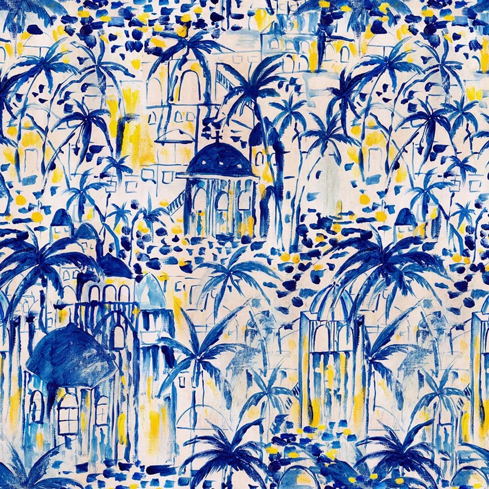 Ταπετσαρία Rhodes Wp20570 3*52X300Cm White-Blue Mindthegap