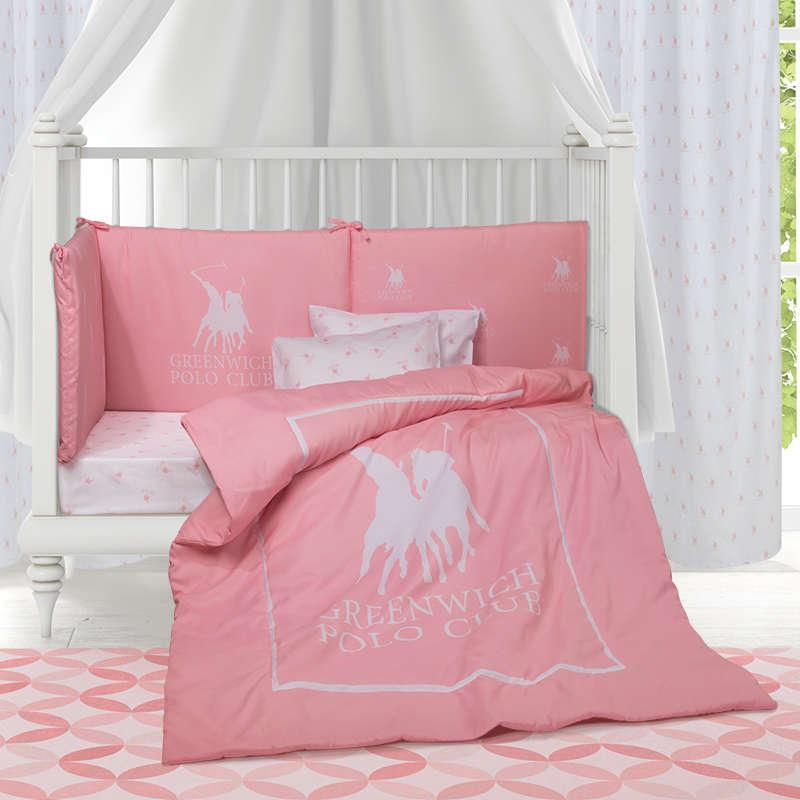Βρεφικό Πάπλωμα Baby 2913 Pink Greenwich Polo Club 110x150cm