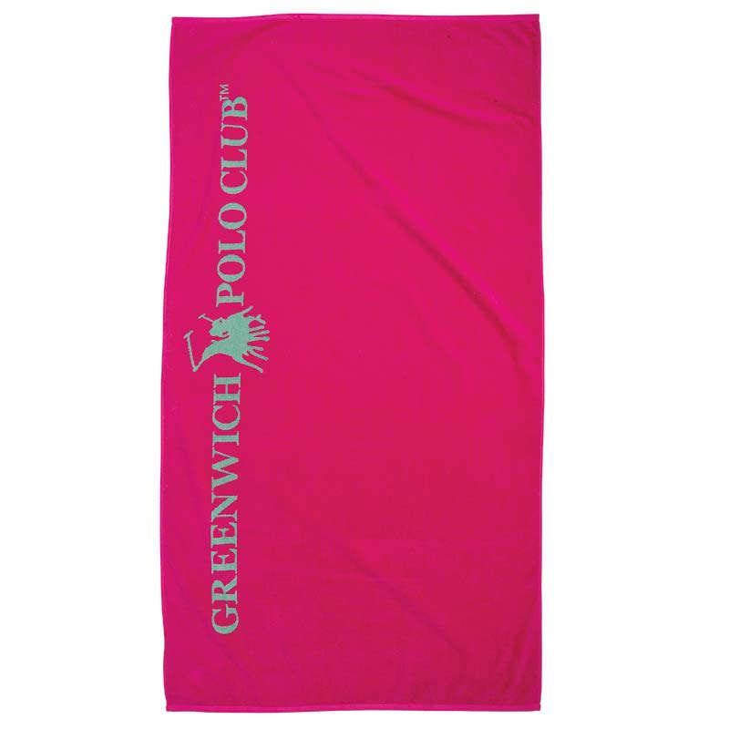 Πετσέτα Θαλάσσης 2837 Fuchsia Greenwich Polo Club Θαλάσσης 90x170cm
