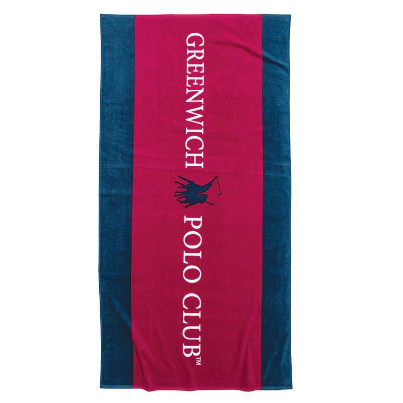 Πετσέτα Θαλάσσης 2860 Red-Blue Greenwich Polo Club Θαλάσσης 80x160cm