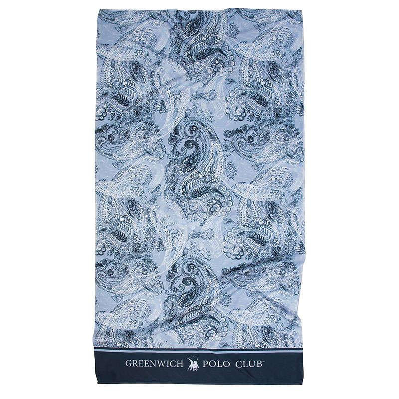 Πετσέτα Θαλάσσης 2867 Ciel-Blue Greenwich Polo Club Θαλάσσης 80x160cm