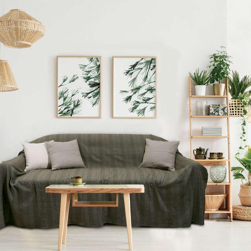 Ριχτάρι 156 Green Das Home Τριθέσιο 180x300cm