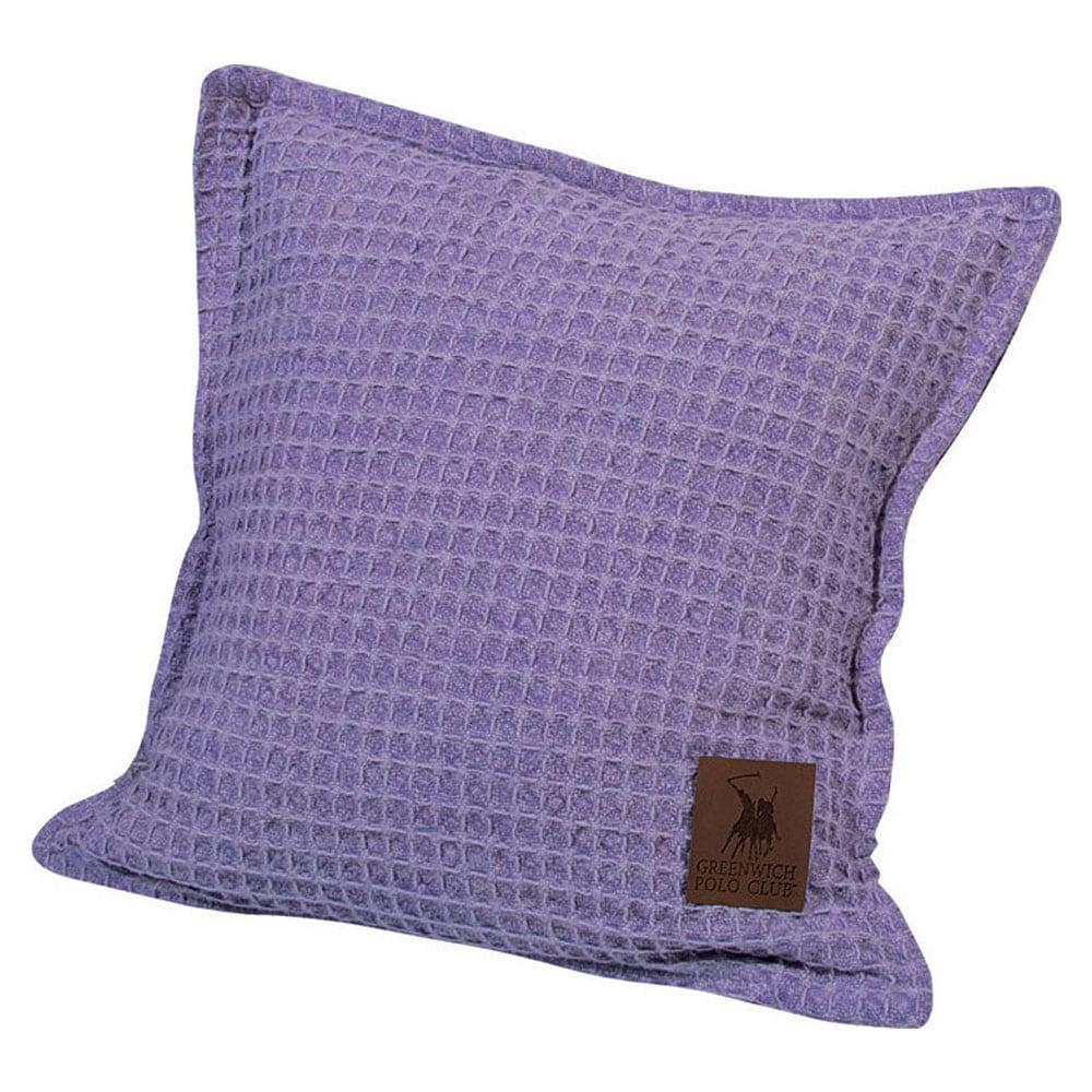 Μαξιλάρι Διακοσμητικό 2437 Purple Greenwich Polo Club 40Χ40 100% Βαμβάκι