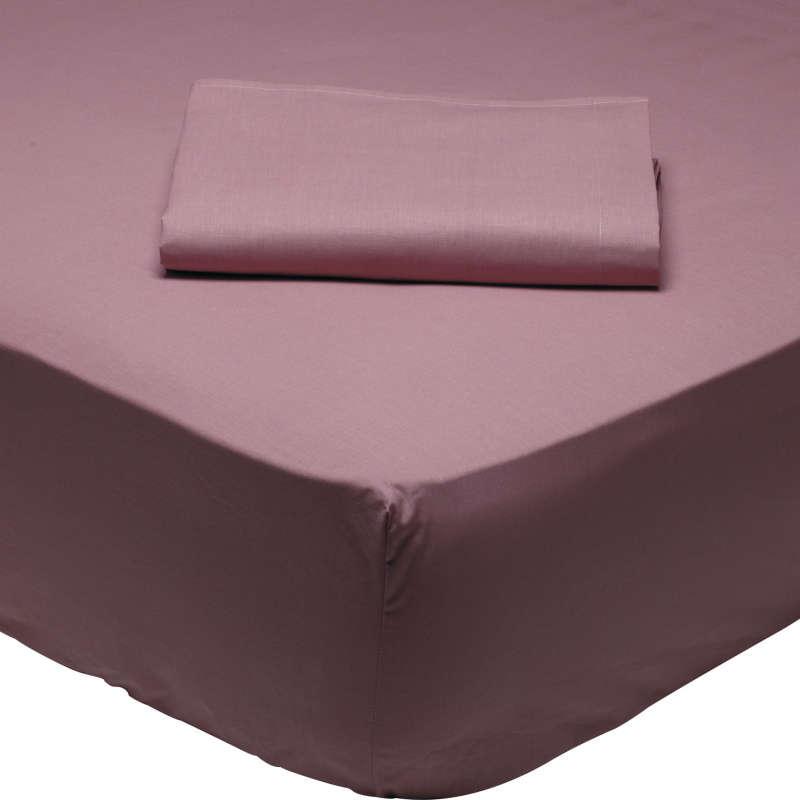Σεντόνι Με Λάστιχο 1008 Powder Pink Das Home Ημίδιπλο 120x200cm
