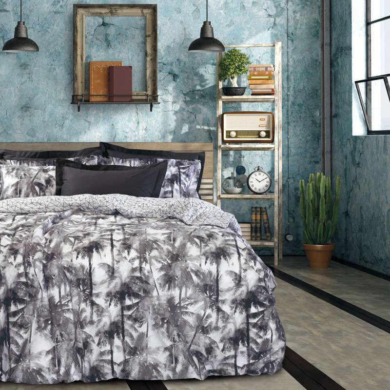 Σεντόνια Σετ 4663 Best Grey Das Home Υπέρδιπλo 230x260cm