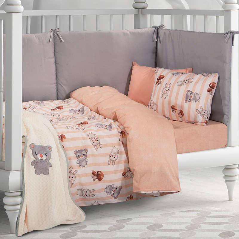 Βρεφική Κουβέρτα Πικέ 2910 White Greenwich Polo Club Κούνιας 110x150cm
