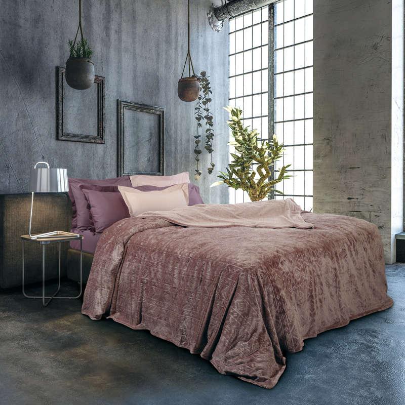 Κουβέρτα Fleece 0426 Nude Das Home Μονό 160x220cm