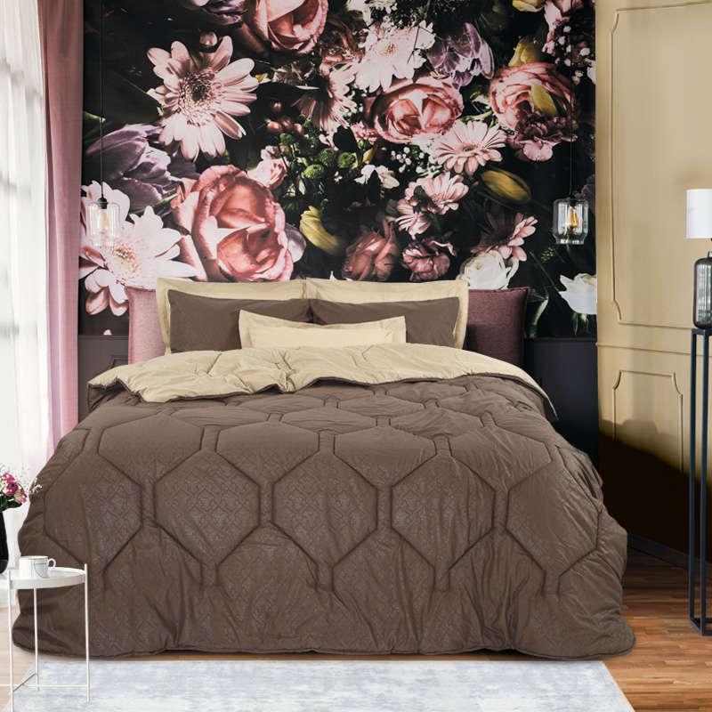 Πάπλωμα & Σεντόνια Σετ 4688 Winter Pack Best Beige Das Home Μονό 160x240cm