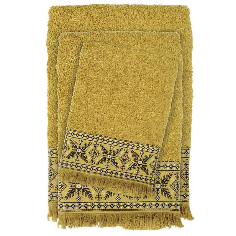 Πετσέτες Σετ 3τμχ 0392 Happy Green Das Home Σετ Πετσέτες