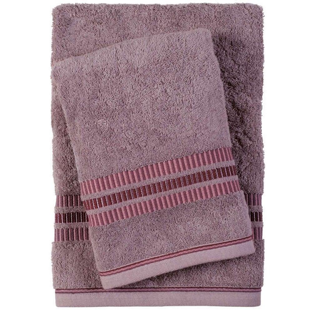 Πετσέτες Σετ 3τμχ 0401 Best Lila Das Home Σετ Πετσέτες