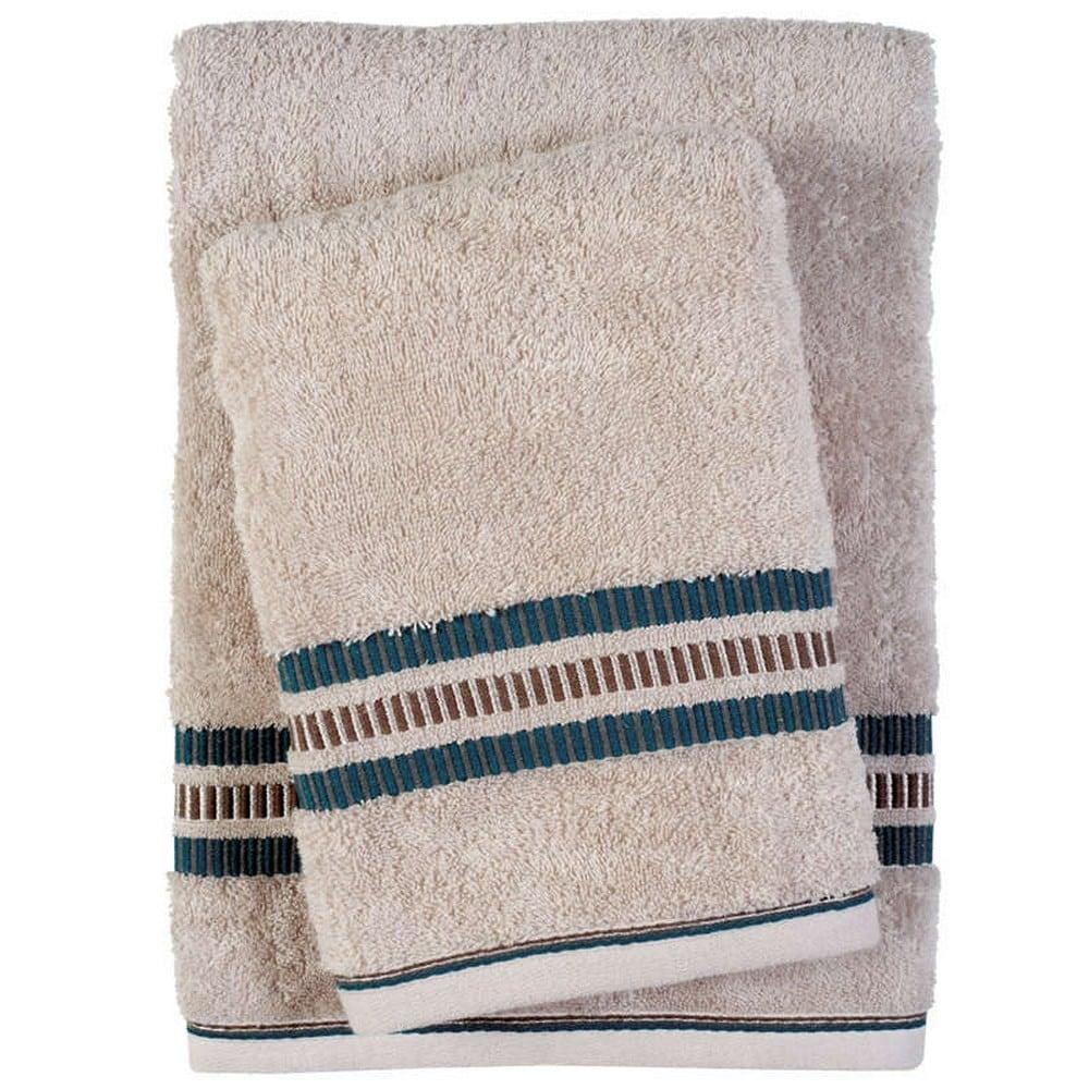 Πετσέτες Σετ 3τμχ 0402 Best Beige Das Home Σετ Πετσέτες