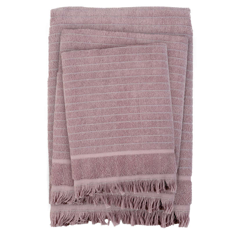 Πετσέτες Σετ 3τμχ 0404 Simple Nude Das Home Σετ Πετσέτες