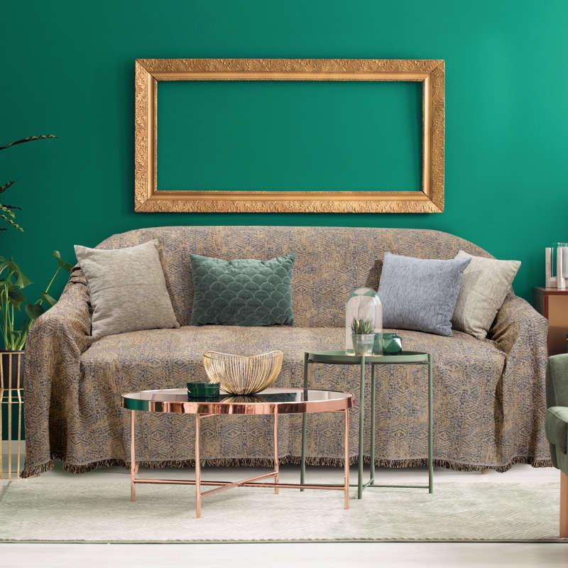 Ριχτάρι 0176 Gold Das Home Διθέσιο 180x250cm