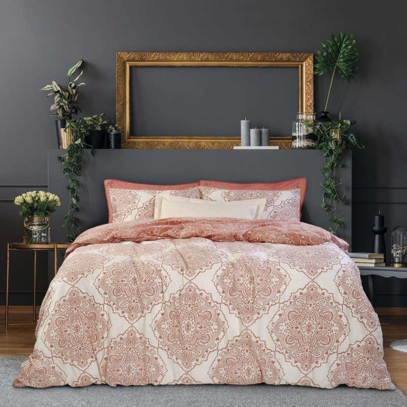 Σεντόνια Σετ 9461 Happy Flannel Coral Das Home Υπέρδιπλo 230x260cm