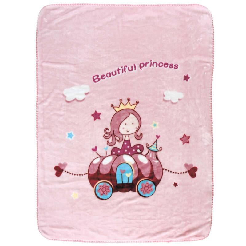 Κουβέρτα Βρεφική Velour 6563 Relax Pink Das Baby Κούνιας 110x140cm