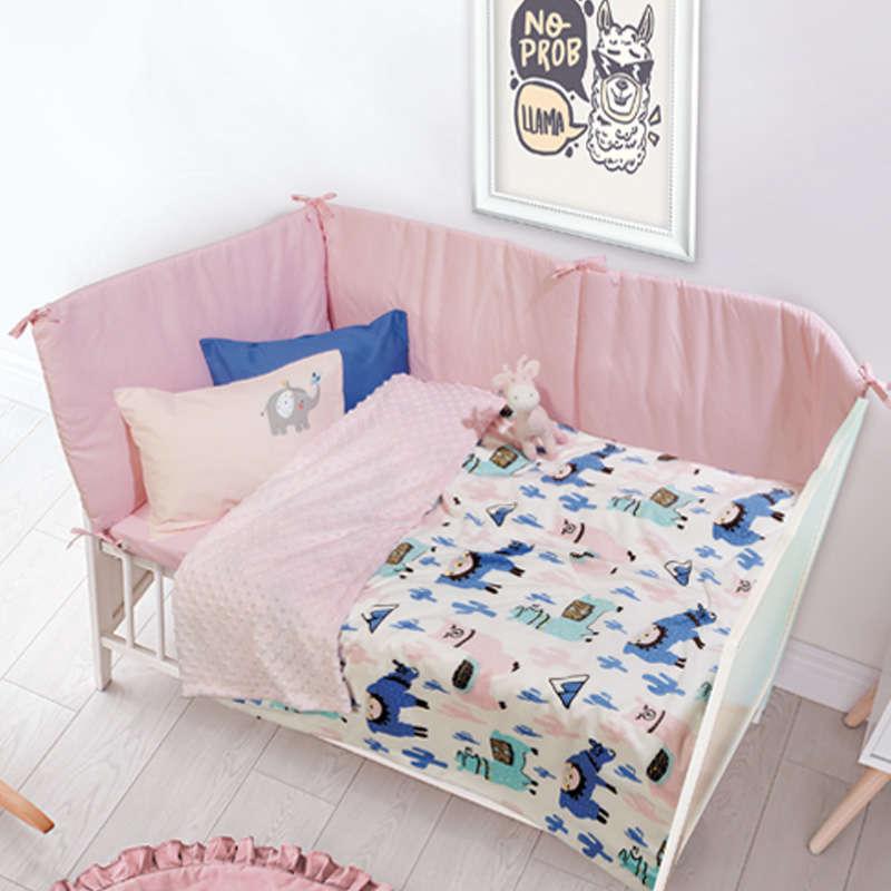 Κουβέρτα Βρεφική Bubble Fleece 6548 Relax Orange-Green Das Baby Αγκαλιάς 75x110cm
