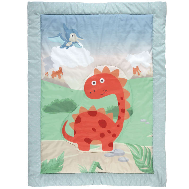 Πάπλωμα Βρεφικό 6559 Baby Smile Digital Beige-Grey Das Baby 110x150cm