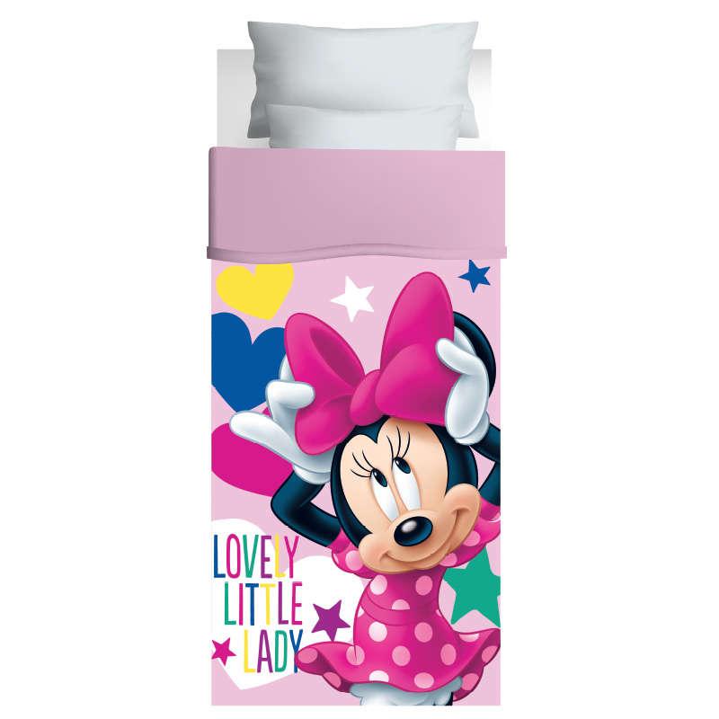 Πάπλωμα Παιδικό 5025 Minnie 170×260 Pink-Fuchsia Das Kids Μονό 170x260cm