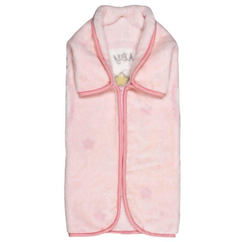 Υπνόσακος Βρεφικός Velour 6565 Relax Pink Das Baby 80x90cm