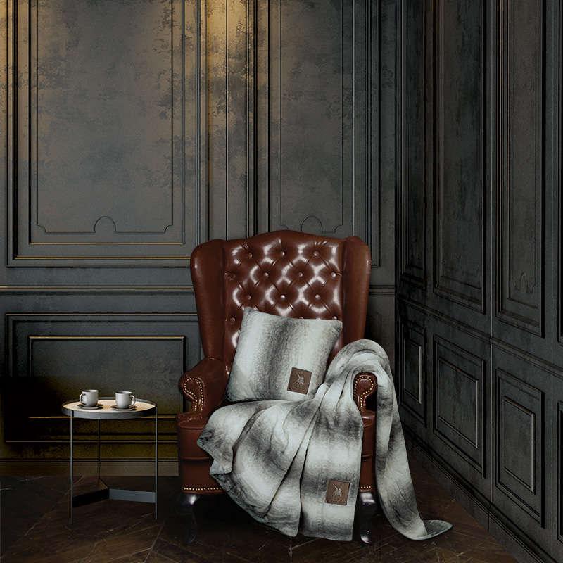 Κουβέρτα Καναπέ 2445 Grey G.P.C. 150X180 130x160cm