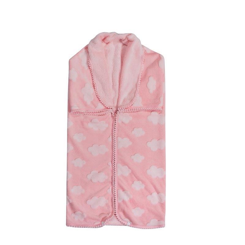 Υπνόσακος Βρεφικός Fleece 2990 Pink G.P.C. 0-1 ετών 80x90cm