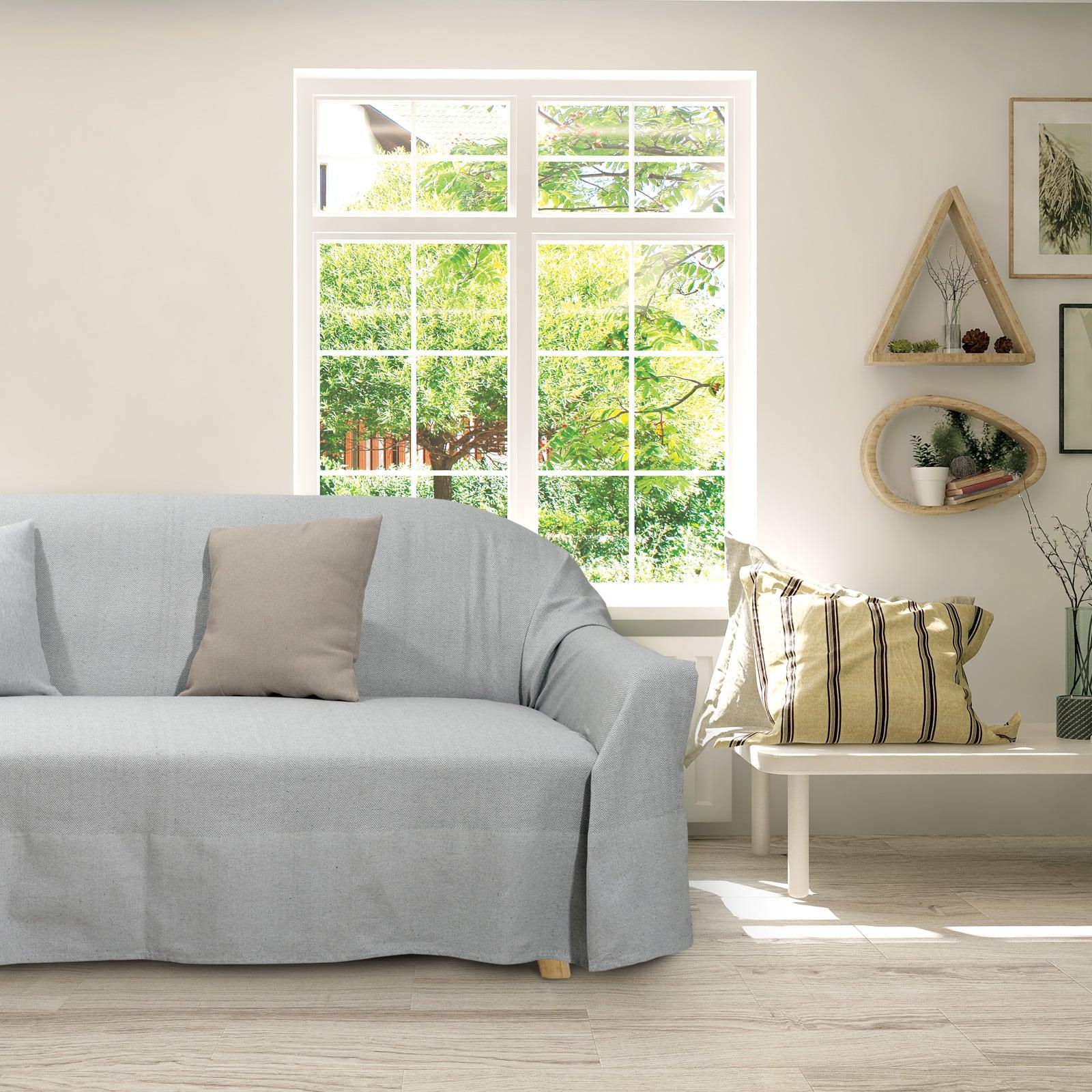 Ριχτάρι 0181 Grey Das Home Τριθέσιο 180x300cm