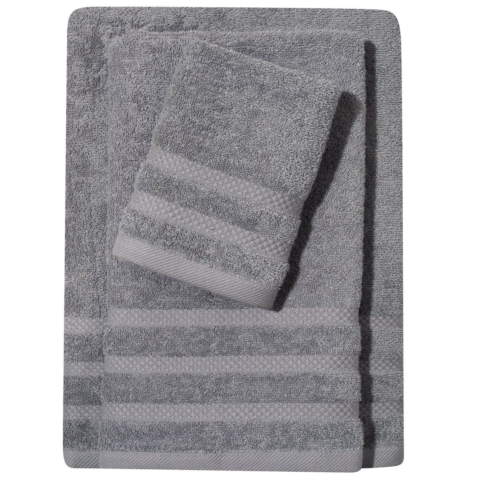 Πετσέτα 1233 Happy Grey Das Home Σώματος 70x140cm