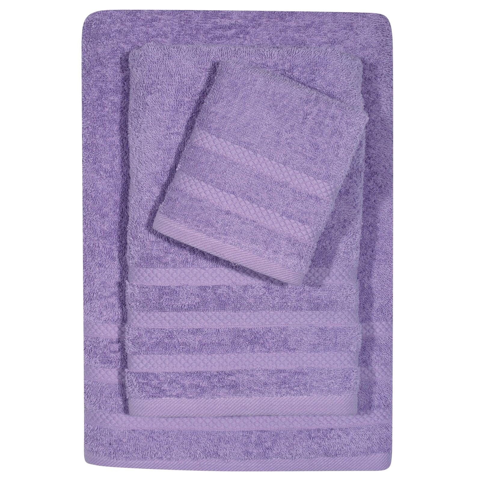 Πετσέτα 1235 Happy Purple Das Home Σώματος 70x140cm